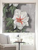 זול כבל & מטענים iPhone-Lifelike Blooms And Bees Country Style Roller Shade