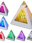 cheap Quartz Watches-1pc LED Night Light Display Screen Battery Waterproof