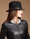 billige Brudesjaler-ædle uld damer fest / udendørs / afslappet hat med læder bælte (flere farver)