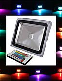 ieftine Chiloți-2900 lm Proiectoare LED 1 led-uri LED Integrat Telecomandă RGB AC 85-265V