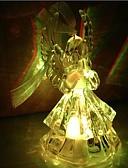 baratos Aço Inoxidável-Coway acrílico praying angels colorido led nightlight alta qualidade
