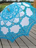 "cheap Women's Coats & Trench Coats-Lace Wedding Daily Masquerade Beach Umbrella Umbrellas 30.7""(Approx.78cm)"
