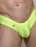 baratos Roupas Íntimas e Meias Masculinas-Homens Cuecas Sólido 1 Peça