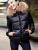 cheap Women's Outerwear-Women's Basic Coat - Solid Colored
