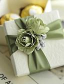 abordables Soportes para Regalo-Cúbico Papel de tarjeta Soporte para regalo  con Flor Cajas de regalos Cajas de Regalos - 6