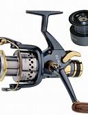 baratos Roupas de Mergulho & Camisas de Proteção-Molinetes de Pesca Molinetes de Isco de Carpa 5.2:1 Relação de Engrenagem+10 Rolamentos Orientação da mão Trocável Pesca de Mar Rotação