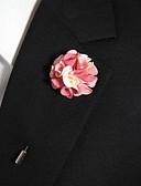 preiswerte Herren Polo Shirts-Herrn Broschen - Blume Stilvoll Brosche Rosa und Weiss Für Alltagskleidung