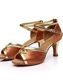 preiswerte Krawatten & Fliegen-Damen Schuhe für den lateinamerikanischen Tanz / Ballsaal / Salsa Tanzschuhe Paillette / Satin Sandalen Schnalle / Band-Bindung