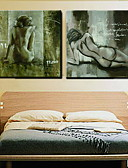 cheap Fashion Scarves-Oil Painting Hand Painted - People Classic Canvas