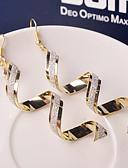 ieftine Periuța de dinți și accesorii-Pentru femei Cercei Picătură - Val Modă Argintiu / Auriu Pentru Nuntă Petrecere Zilnic