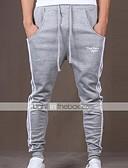 ieftine Pantaloni Bărbați si Pantaloni Scurți-Bărbați Activ Bumbac Activ Pantaloni Sport Relaxat Pantaloni Dungi