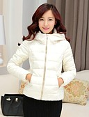 cheap Women's Outerwear-Women's Chic & Modern Padded - Solid Colored, Modern Style