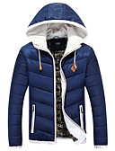 ieftine Îmbrăcăminte Bărbați de Exterior-MEN - Haine & JGeci ( Bumbac / Amestec Bumbac ) Informal Suport - Mânecă Lungă