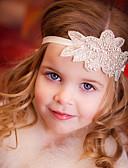 זול אביזרים לילדים-אביזרי שיער כל העונות רצועות ראש כותנה אורגנית בנות - בז'