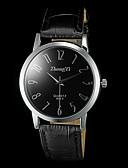 abordables Regalos Prácticos-Hombre Reloj de Pulsera Reloj Casual PU Banda Encanto Negro / Marrón