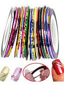 cheap Fashion Watches-30pcs 3D Nail Stickers Nail Art Design Abstract / Fashion Daily