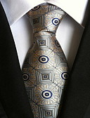 cheap Men's Ties & Bow Ties-Men's Party / Work / Basic Polyester Necktie Print / Cute / Multi-color