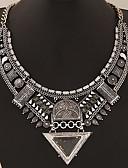 abordables Sombreros de mujer-Mujer Collar / Collares Declaración - Importante, Europeo Dorado, Plata Gargantillas Joyas Para