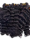 abordables Leggings para Mujer-Cabello Brasileño Ondulado Medio Cabello Virgen Tejidos Humanos Cabello Cabello humano teje Extensiones de cabello humano