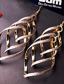 baratos Calças e Shorts Masculinos-Mulheres Franjas Brincos Compridos - Importante, Personalizada, Europeu Prata / Dourado Para Casamento Festa Ocasião Especial