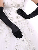 cheap Mother of the Bride Dresses-Spandex / Polyester Elbow Length Glove Classical / Bridal Gloves / Party / Evening Gloves With Solid