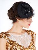 preiswerte Damen Pelz- & Kunstpelzmäntel-Krystall / Feder / Stoff Tiaras / Blumen / Hüte mit 1 Hochzeit / Besondere Anlässe / Party / Abend Kopfschmuck
