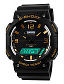 cheap Sport Watches-Men's Digital Wrist Watch Sport Watch Alarm Calendar / date / day Chronograph Water Resistant / Water Proof Sport Watch LED Dual Time