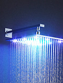 abordables Biquinis y Bañadores para Mujer-Moderno Ducha lluvia Cromo Característica - Efecto lluvia LED, Alcachofa de la ducha