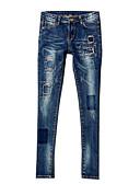 abordables Pantalones para Mujer-Pantalones Un Color