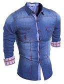 preiswerte Herrenhemden-Herrn Einfarbig Hemd