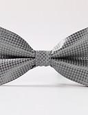 olcso Férfi nyakkendők és csokornyakkendők-Férfi Kreatív Stílusos Luxus Rácsos Klasszikus Party Esküvő - Csokornyakkendő