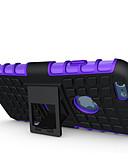 Недорогие Кейсы для iPhone-Кейс для Назначение Apple iPhone 6s Plus / iPhone 6s / iPhone 6 Plus Защита от удара / со стендом Кейс на заднюю панель броня Мягкий ПК
