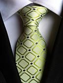 cheap Men's Ties & Bow Ties-Men's Luxury Grid Creative Stylish