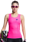 cheap Women's Swimwear & Bikinis-SANTIC Women's Sleeveless Sports Tank Top - Pink Bike Vest / Gilet / T-shirt / Jersey, Quick Dry, Ultraviolet Resistant, Breathable