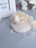 זול הינומות חתונה-פנינה / עור מפגשים עם 1 חתונה / אירוע מיוחד כיסוי ראש