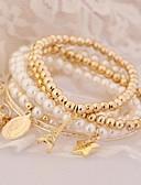 cheap Men's Shirts-Women's Bracelet Bangles Rhinestone Ladies Charm Unique Design Vintage Party Bracelet Jewelry Gold For Party Gift Valentine