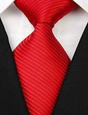 olcso Férfi szíjak-Férfi Kreatív Stílusos Luxus Klasszikus Party Csíkos Esküvő - Nyakkendő