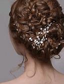 cheap Wedding Veils-Pearl Headwear / Hair Clip / Hair Stick with Floral 1pc Wedding / Special Occasion Headpiece / Hair Pin