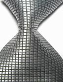 billige Kjoler til brudens mor-Herre Fest/aften Formell Stil Luksus Rutenett Kontor / Bedrift Slips - Elegant, Kreativ