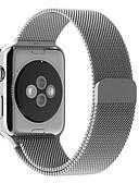 זול להקות Smartwatch-צפו בנד ל סדרת Apple Watch 5/4/3/2/1 Apple לולאה בסגנון מילאנו מתכת אל חלד רצועת יד לספורט