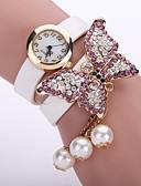 baratos Relógios de Pulseira-Mulheres senhoras Bracele Relógio Quartzo Preta / Branco / Azul Relógio Casual Analógico Flor Fashion - Verde Rosa claro Azul Claro