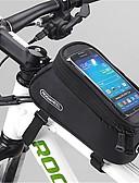 preiswerte Radtrikots-ROSWHEEL Handy-Tasche / Fahrradrahmentasche 4.8 Zoll Touchscreen Radsport für Samsung Galaxy S6 / iPhone 4/4S / Samsung Galaxy S4 Gelb / Wasserdichter Verschluß