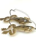 preiswerte Höschen-4 Stück Angelköder Frosch Weicher Kunststoff Seefischerei Spinn Fischen im Süßwasser Angeln Allgemein Spinnfischen Barschangeln