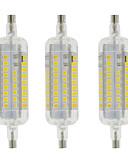رخيصةأون تيشيرتات وتانك توب رجالي-YWXLIGHT® مل 3pcs 4W 350-400lm R7S أضواء LED ذرة T 60 الخرز LED SMD 2835 ضد الماء ديكور أبيض دافئ أبيض كول 220-240V