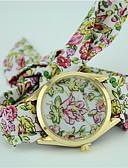 ieftine Ceasuri La Modă-Pentru femei Ceas La Modă Ceas Brățară Quartz Negru / Albastru / Verde Analog femei Floare Boem - Mov Verde Albastru Un an Durată de Viaţă Baterie / Tianqiu 377