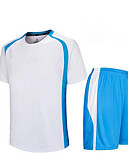cheap Fashion Belts-Men's Soccer Shirt+Shorts Clothing Sets/Suits Breathable Quick Dry Spring Summer Fall/Autumn Winter Classic TeryleneExercise & Fitness
