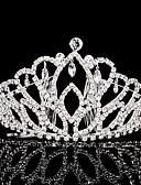 cheap Wedding Dresses-Rhinestone Tiaras / Headwear with Floral 1pc Wedding / Special Occasion Headpiece