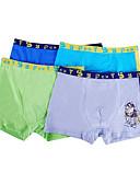 abordables Ropa Interior y Calcetines de Hombre-Hombre Súper Sexy Boxers Cortos Un Color Tiro Medio