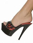 preiswerte Hochzeitskleider-Damen Schuhe Lackleder Frühling / Sommer Leuchtende LED-Schuhe / Club-Schuhe High Heels / Slippers & Flip-Flops Stöckelabsatz / Plattform
