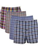 رخيصةأون ملابس داخلية وجوارب للرجال-للرجال سوبر مثير شورت قصير منقوش 1 قطعة وسط